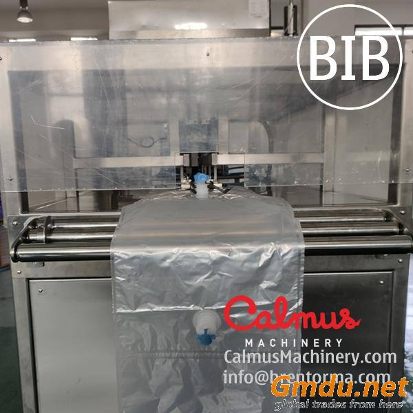 Fully-automatic Bag in Box Syrup Filling Machine and Cartoning Line