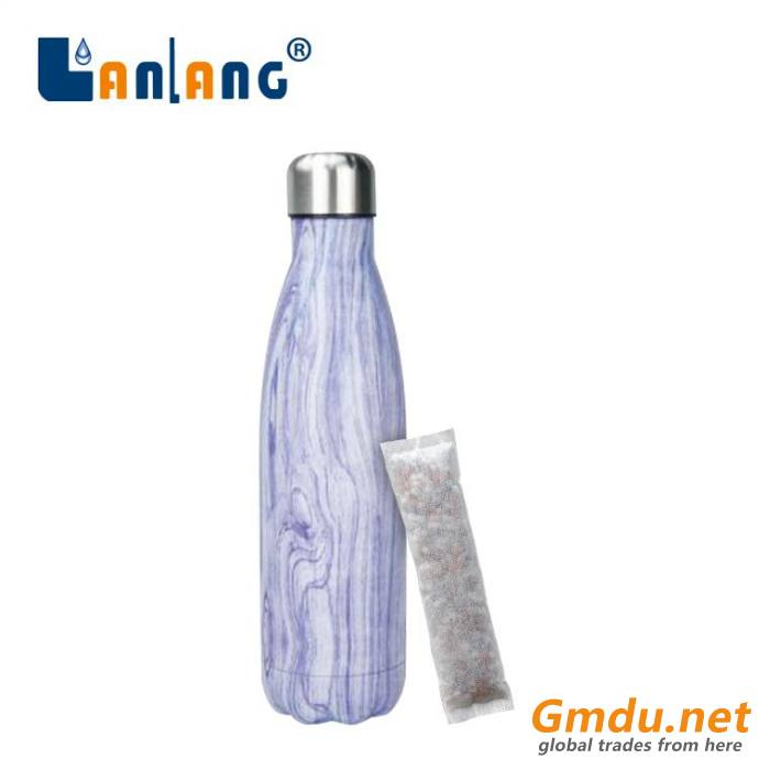Hydrogen alkaline water bottle stainless steel