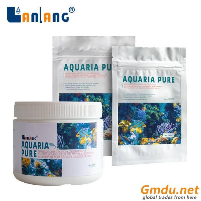 Aquarium water filtration bag