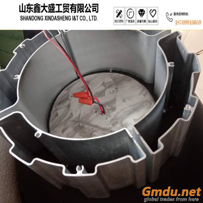 aluminum radiator for lighting and heat parts