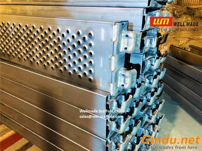 Scaffolding Steel Plank 190mm Steel Boards Construction Platform