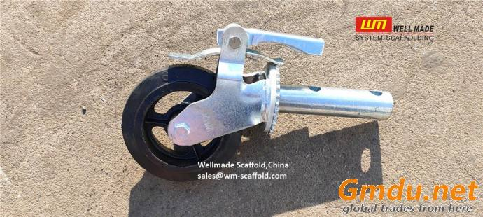 Adjustable Caster Wheels Swivel with Stem Movable Scaffolding Wheels
