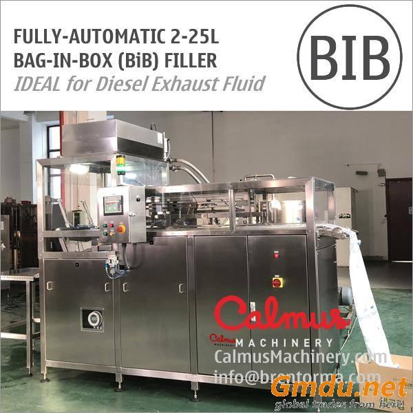 Fully-automatic BiB Diesel Exhaust Fluid Filling Machine Bag in Box Filler