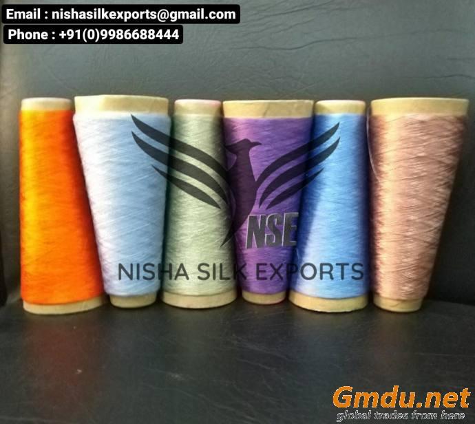 Carpet Yarn - Carpet Silk Yarn - Silk Carpet - Silk Rugs - Silk Durries