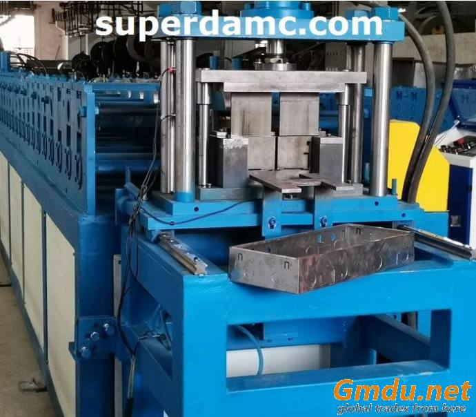 Electrical Flush Mount Box Roll Forming Machine