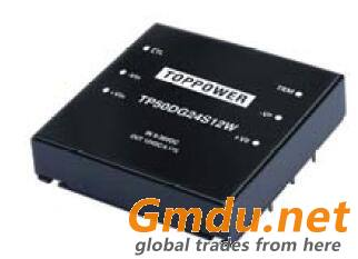 50W 1.5KVDC Isolated Wide Input Voltage DC/DC Converters