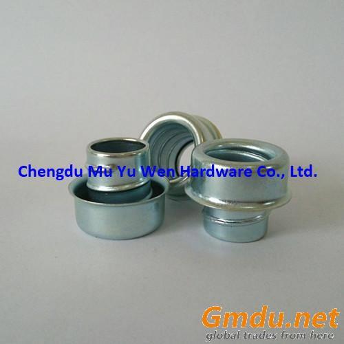 Zinc plated steel conduit end ferrule screw type