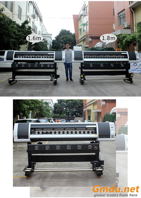 Competitive price 1.6m 1.8m 2.5m 3.2m digital inkjet printer machine for advertising AD