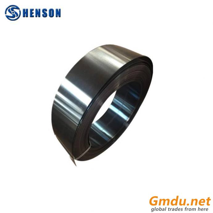 Oil quenching + tempering blue 65mn ASTM1566 Cold Rolled high tensileHigh Carbon Spring Steel Strips by the roll