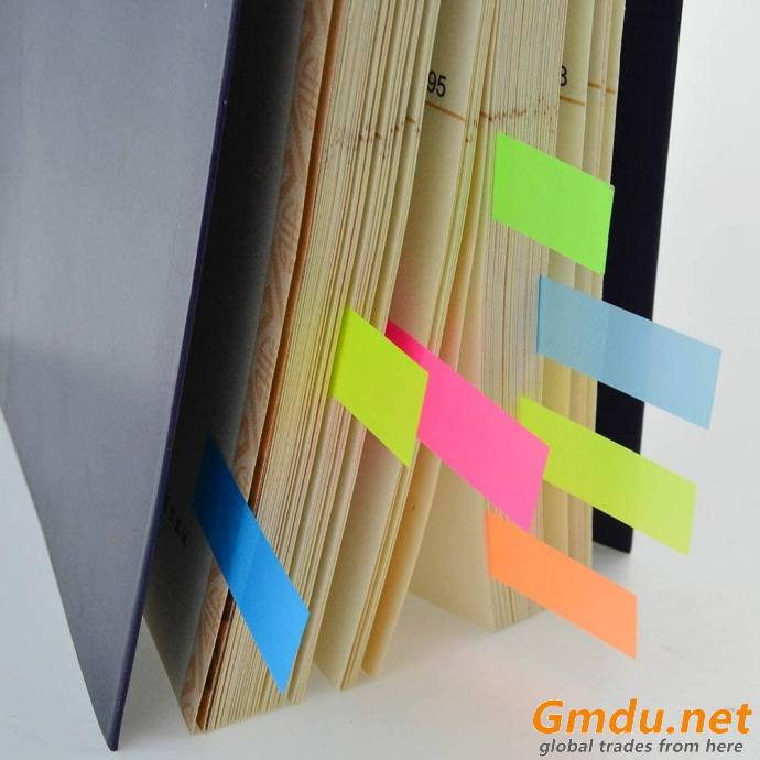 7 Color Index Tabs Index Flag Bright Colors Page Index Stickers Sticky Notes Flags PET