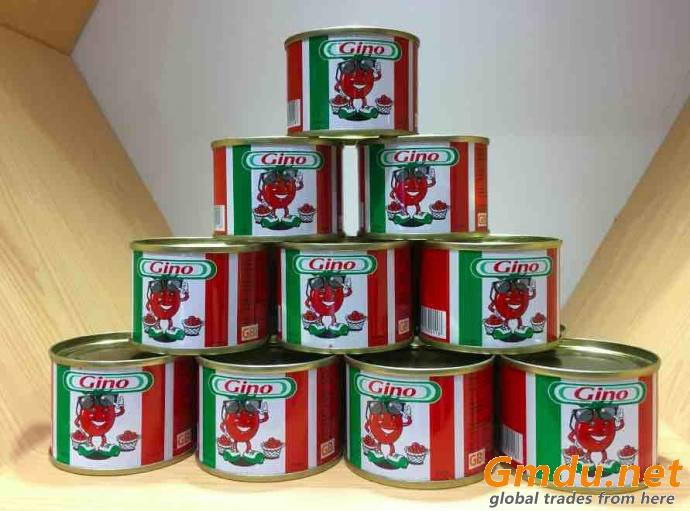 TOMATO PASTE TOMATO SAUCE CANNED TIN SACHET STAND UP POUCH