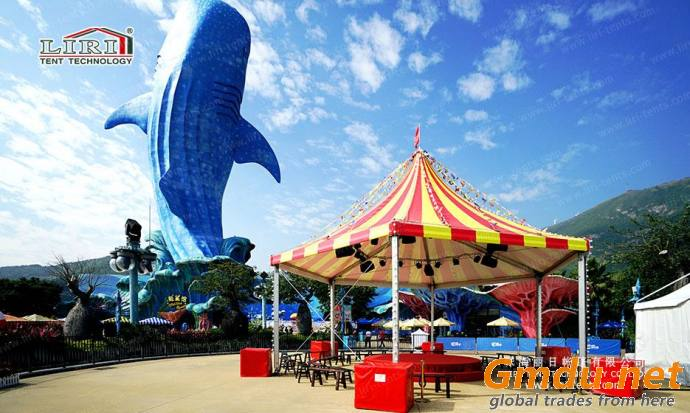 amusement park tent