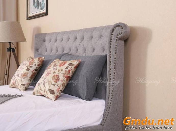 Genuine Leather PU Drawer Bed