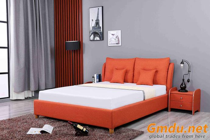 Fully Upholstered Double Bed Upholstered Bed Assembly