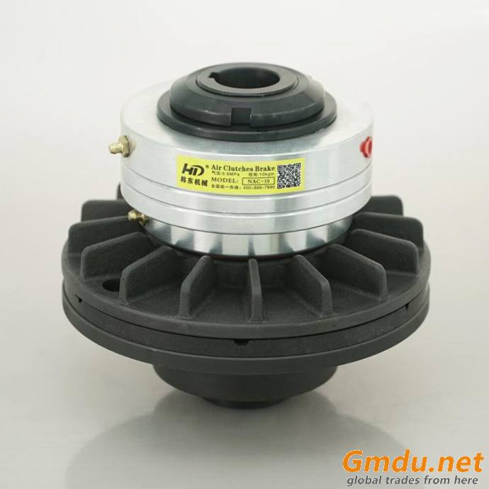 NAC pneumatic clutch winding and unwinding