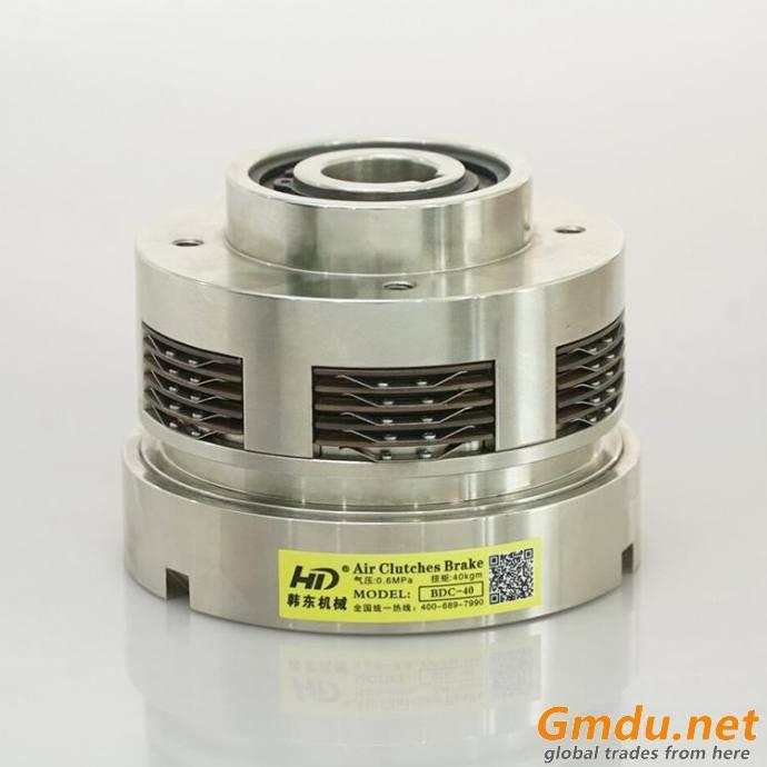 BDC multi-disc pneumatic clutch