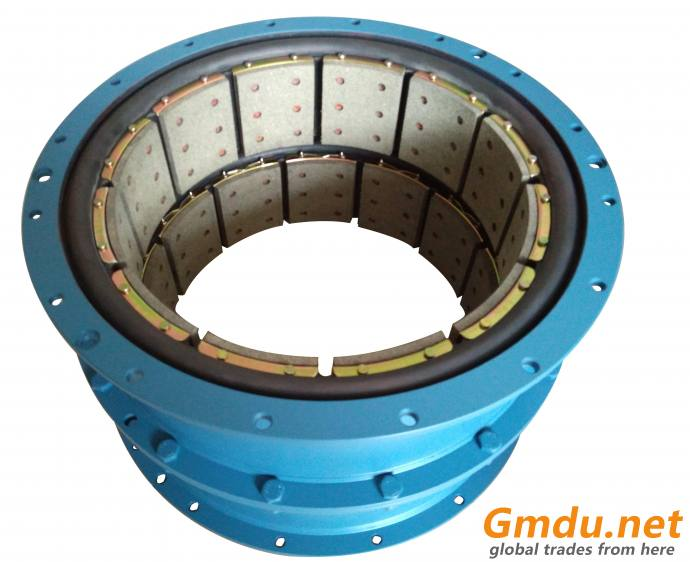 20CB500 constrict pneumatic actuated drum type clutch brake
