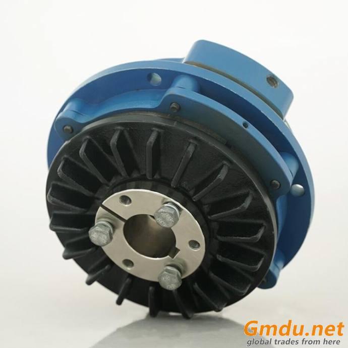 HABB air release spring applied caliper disc brake elevator