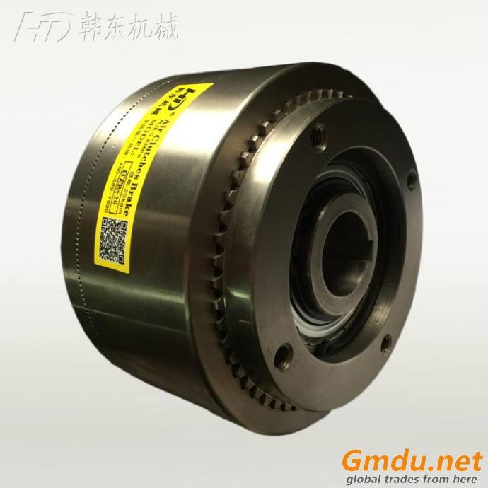 CBM spring engaged air shaft gear brake automated machine