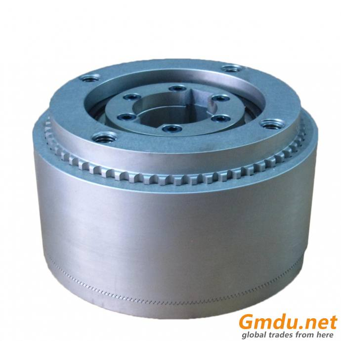 Aluminum material spring engaged pneumatic tooth brake
