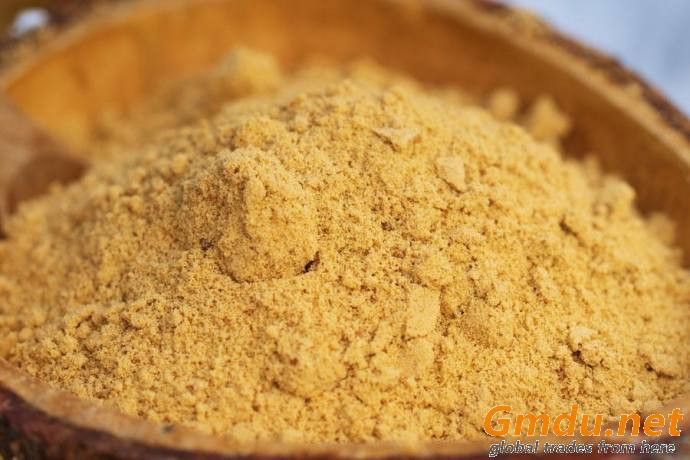 Powdered cane molasses