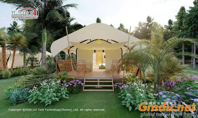 Hawaii hotel tent