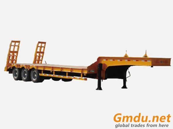 Low Flatbed Semi-trailer