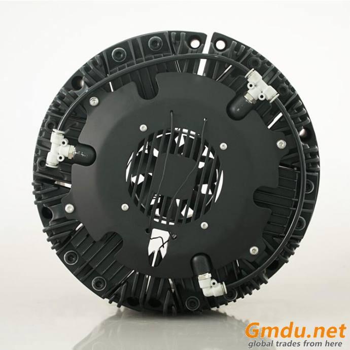 DBK pneumatic fan cooling caliper disc brake