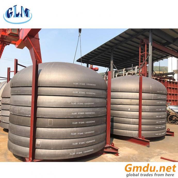 Pressure vessel dish head types