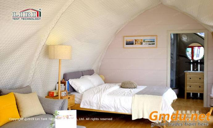 Shell glamping tent