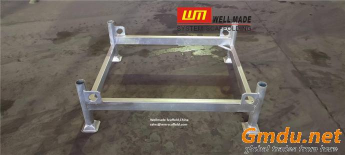 Steel Rack Scaffold Pallet Steel Stillage Steel Storage Scaffold Basket