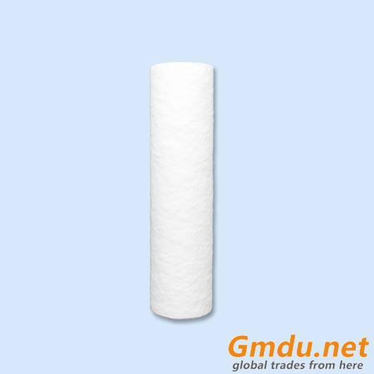 PP spun with furry surface or orange peel surface