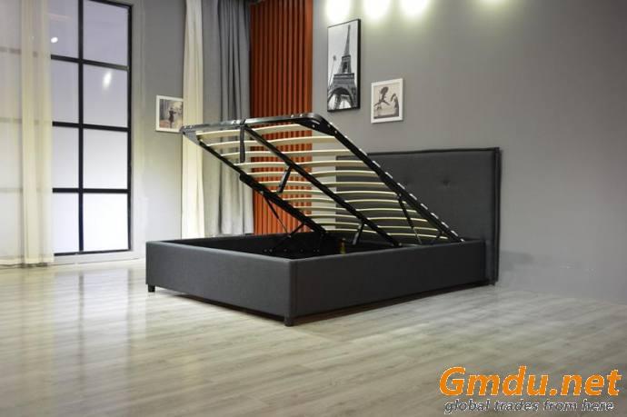 Gas Lift Storage Bed Frame