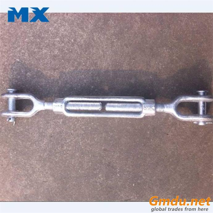 Turnbuckle US type with jaw jaw