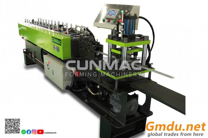 Ceiling/drywall/furring roll forming machine