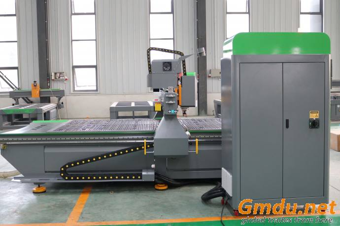 Woodworking Engraving/Carving/Milling Machine 1325 CNC Router with Transverse spindle side drill door hole keyhole