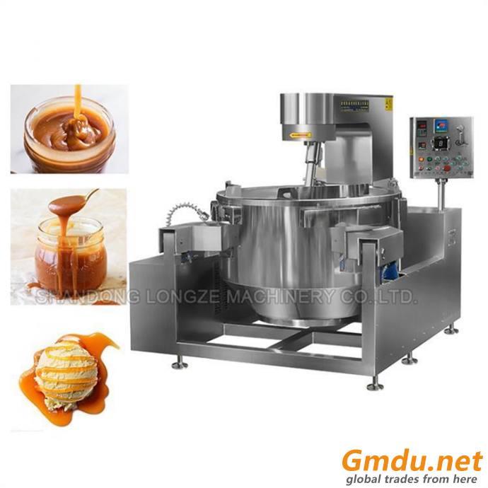 Sugar Industrial Cooking Kettle/Tilting Cooking Mixer Machine Cooking Pot