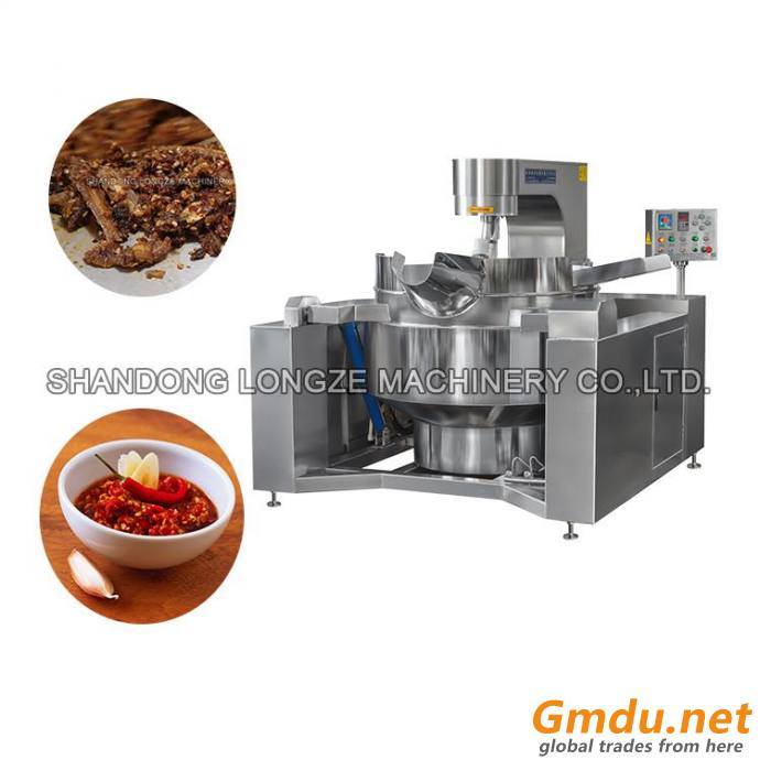 Commercial Gas Planetary Stir Cooking Mixer Machine For Chocolate Cream Sticky Materia