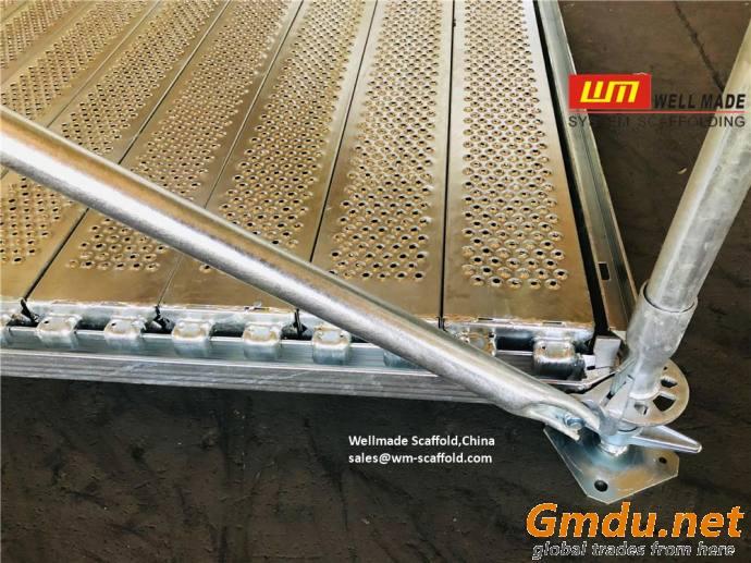 Ringlock U-Type 190mm Steel Plank Infill Boards 190mm