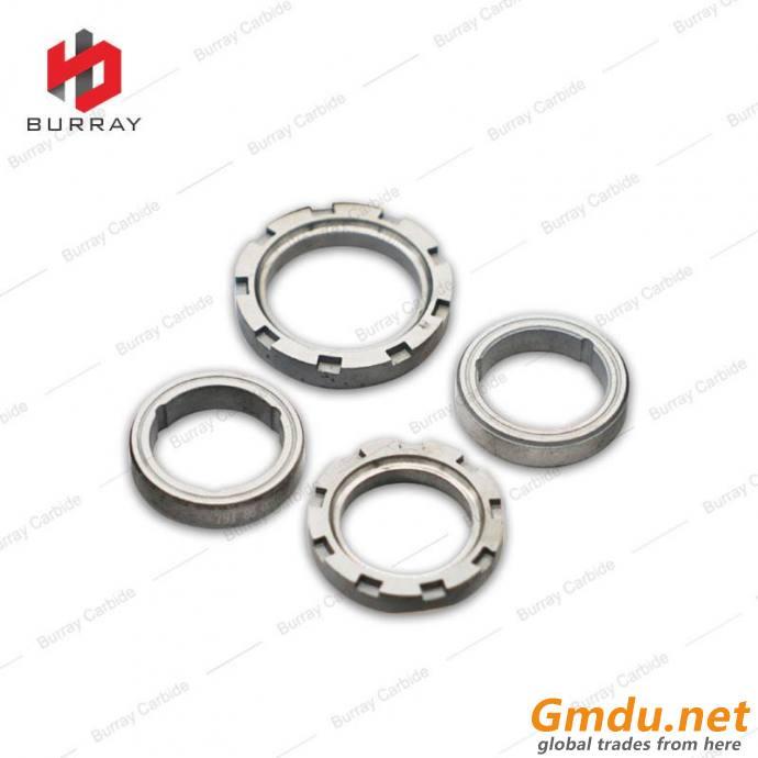 Tungsten Carbide Bushing Shaft Seal Ring Roller Ring