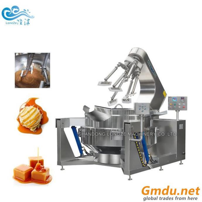 Efficient Heating Planetary Stiring Food Cooking Mixer Machine