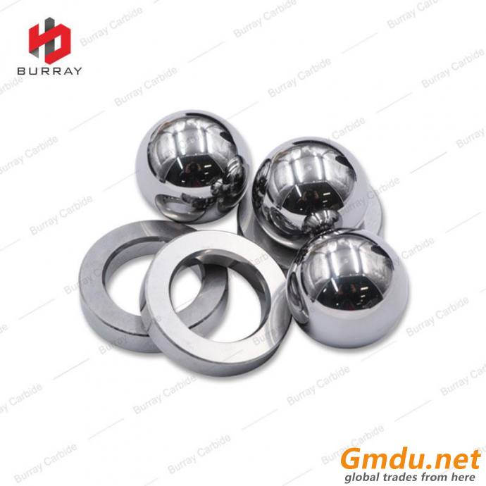 100% Raw Material Cemented Carbide Ball And Seat