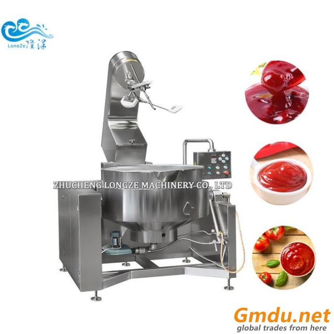500L Stainless Steel Large Capacity Industrial Cooking Mixer Machine