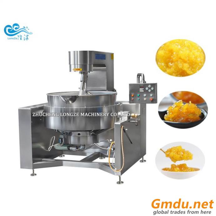 Gas Industrial Automatic Cooking Mixer For Caramel
