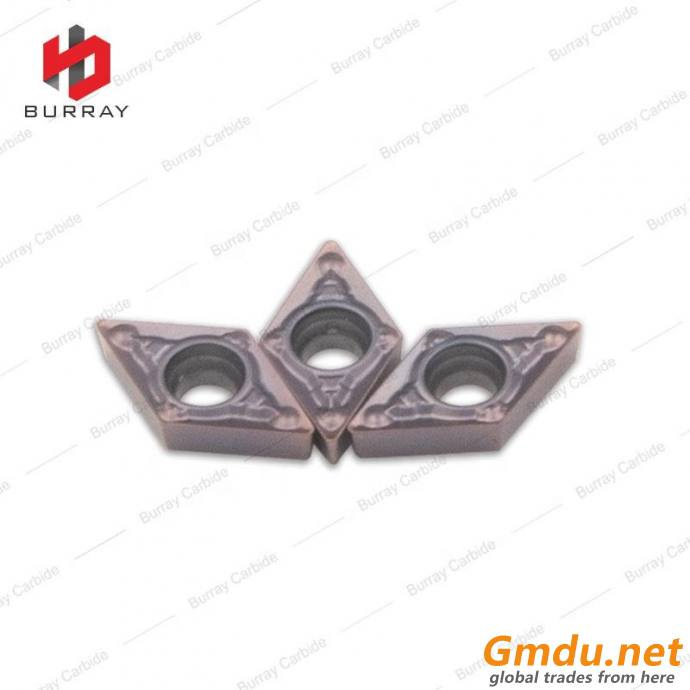 DCMT Carbide Cutting Inserts for Steel Finishing