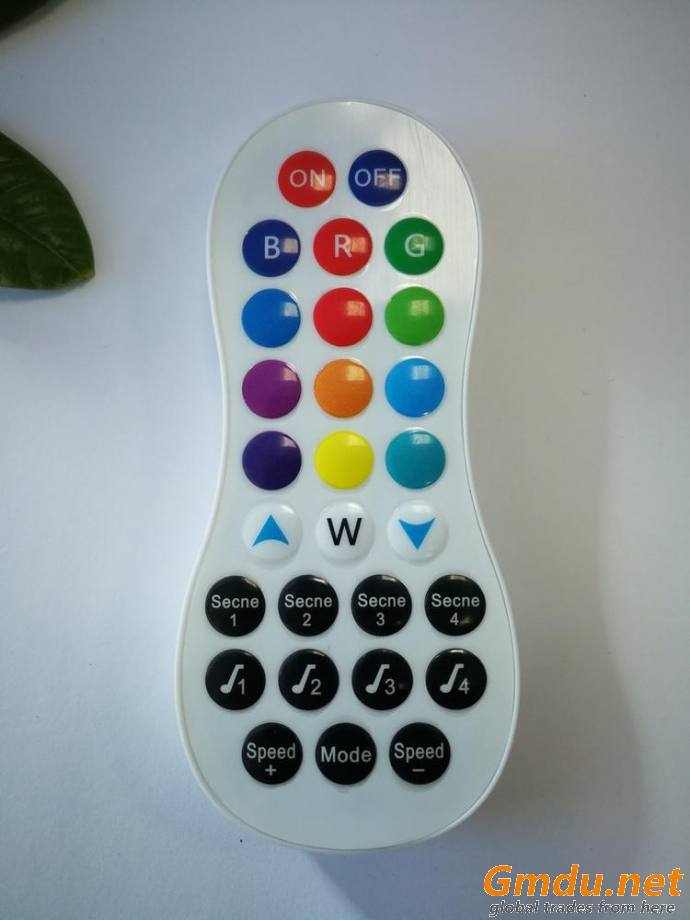 Remote control for RGB LED light