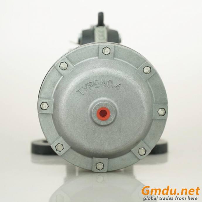 High torque pneumatic caliper disc brake in vertical for tire making machine