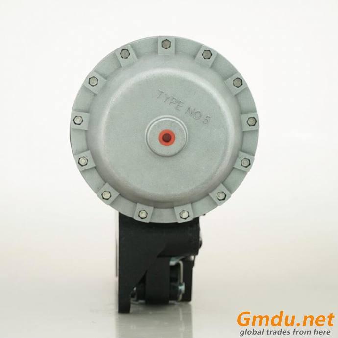 DBH10 pneumatic friction caliper disc brake with an air cylinder head