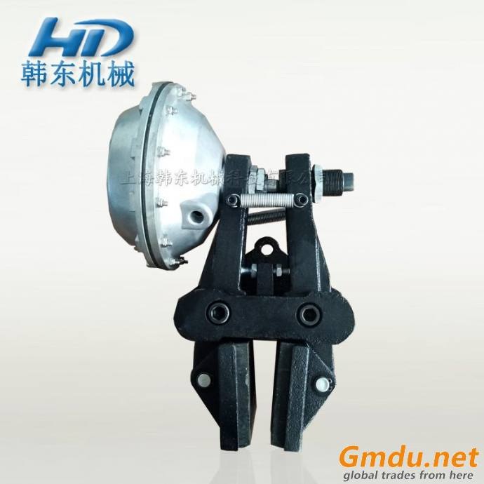 QDD-3 left and right pneumatic friction brake for stopping