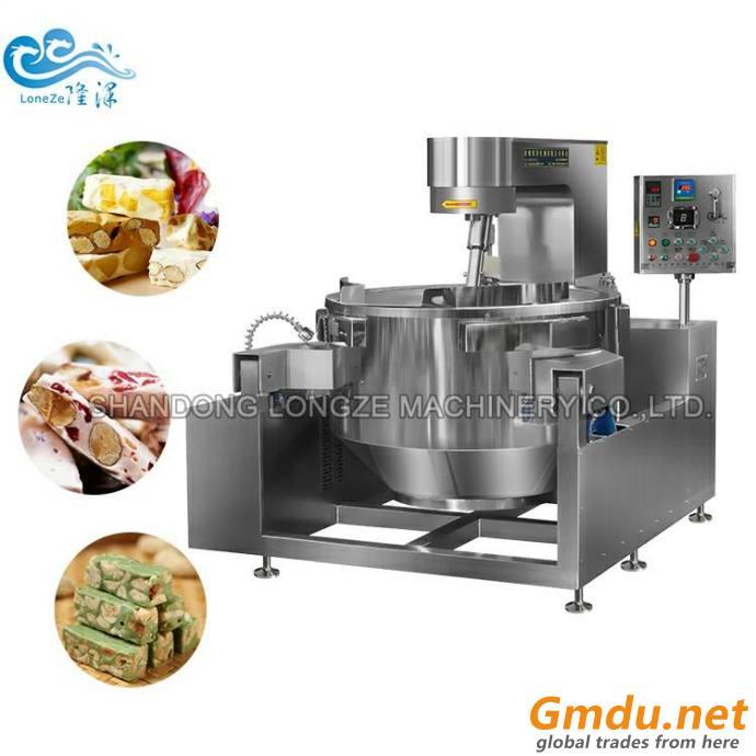 Automatic Seasoning Coated Flavored Nuts Processing Machine Sugar Honey Glazed Nuts Making Machine